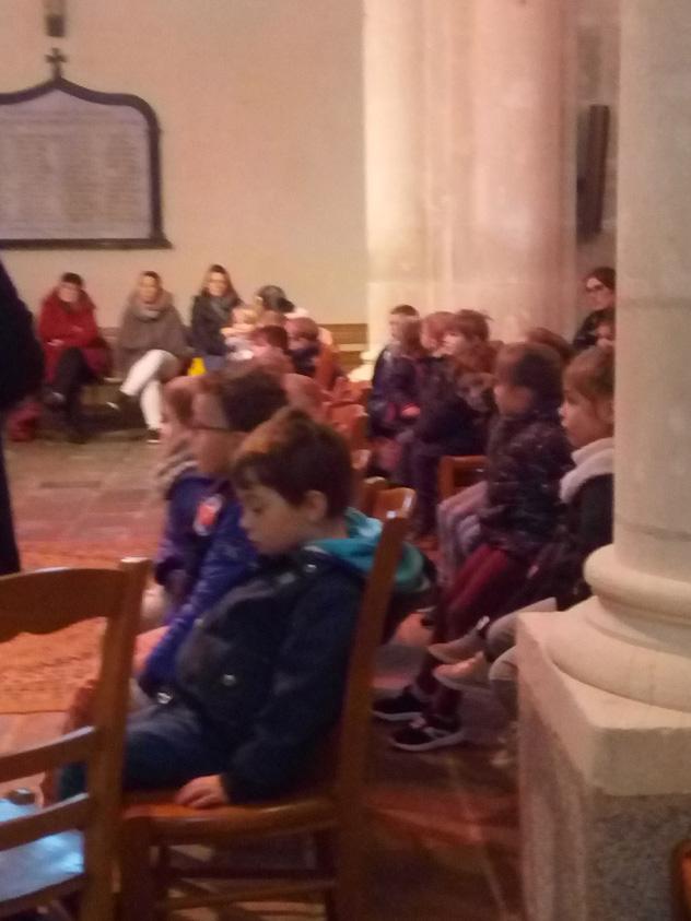 Célébration vers Pâques avec les enfants