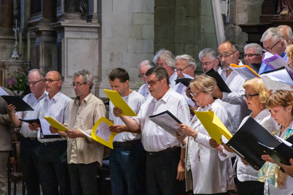 Photos du concert chant grégorien